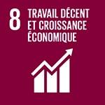 ODD 8 travail décent et croissance économique