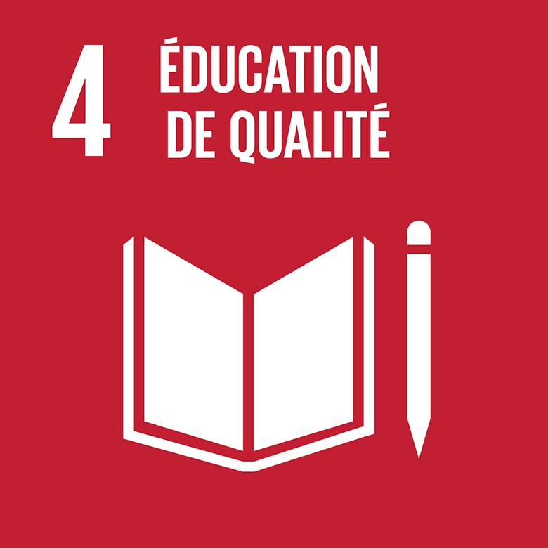 ODD 4 éducation de qualité