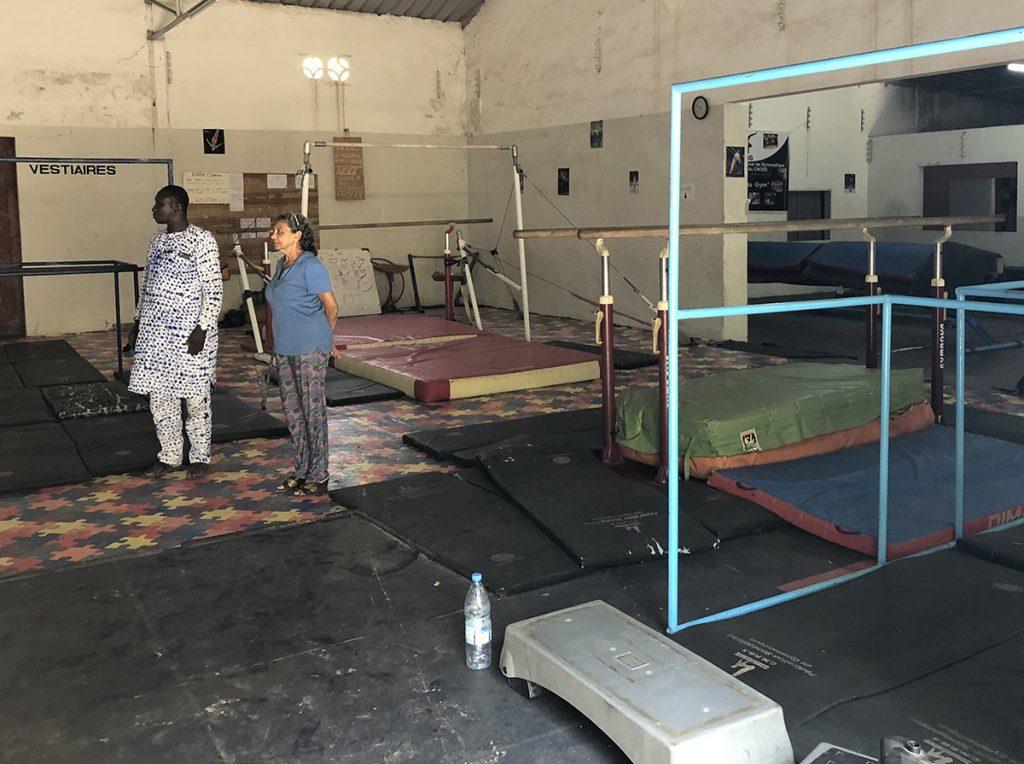 Gymnase de Dakar - Fédération Sénégalaise de de gymnastique